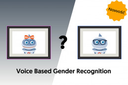 voice based gender recognition
